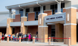 Los Angeles County Sheriff's officials block the north side of a middle  school in Walnut after a suspicious suitcase is found on a nearby bus bench  on Nov.