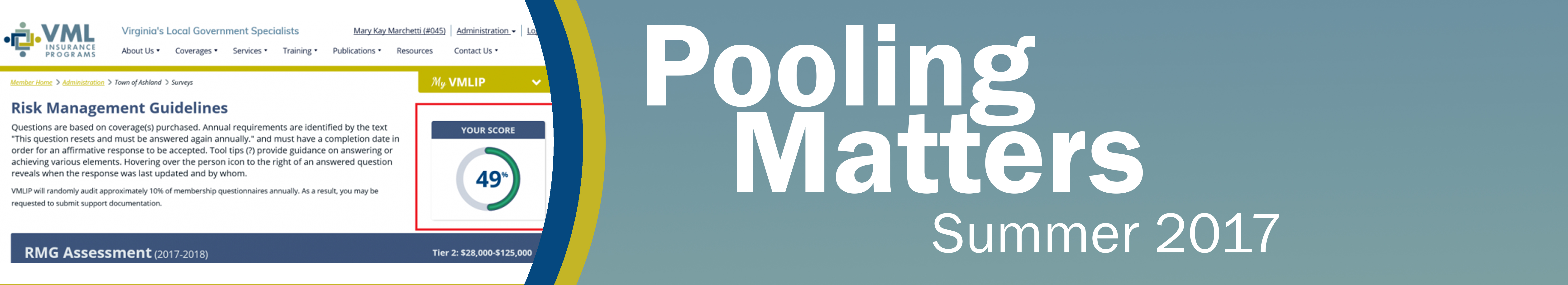 Pooling Matters: 2017 Summer Issue