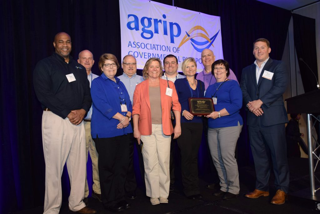 VMLIP staff receive AGRiP award
